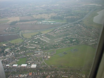 Datchet from the air. se71 (CC BY-NC-SA 2.0) via Flickr.