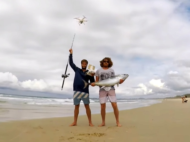 Has Mankind Gone Too Far With Drone Fishing?
