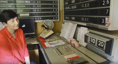 Operator console for Czech Pragotron