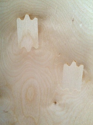 This is on the non-finishing side of a Baltic Birch panel. You can see the care taken to fix knots and voids.