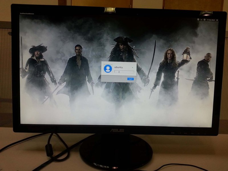 Yes, a Pirates of the Caribbean desktop will be most people's first experience with the Pine64