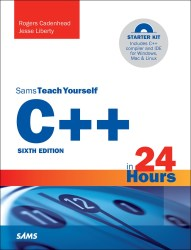 My all time worst instructional book purchase after Practical Electronics For Inventors. It cannot, and will not teach C++ in 24 hours.