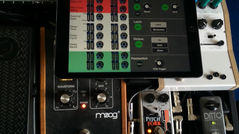 IPad Control For Guitar Pedals   Hackaday