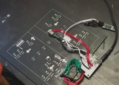 LED array control components