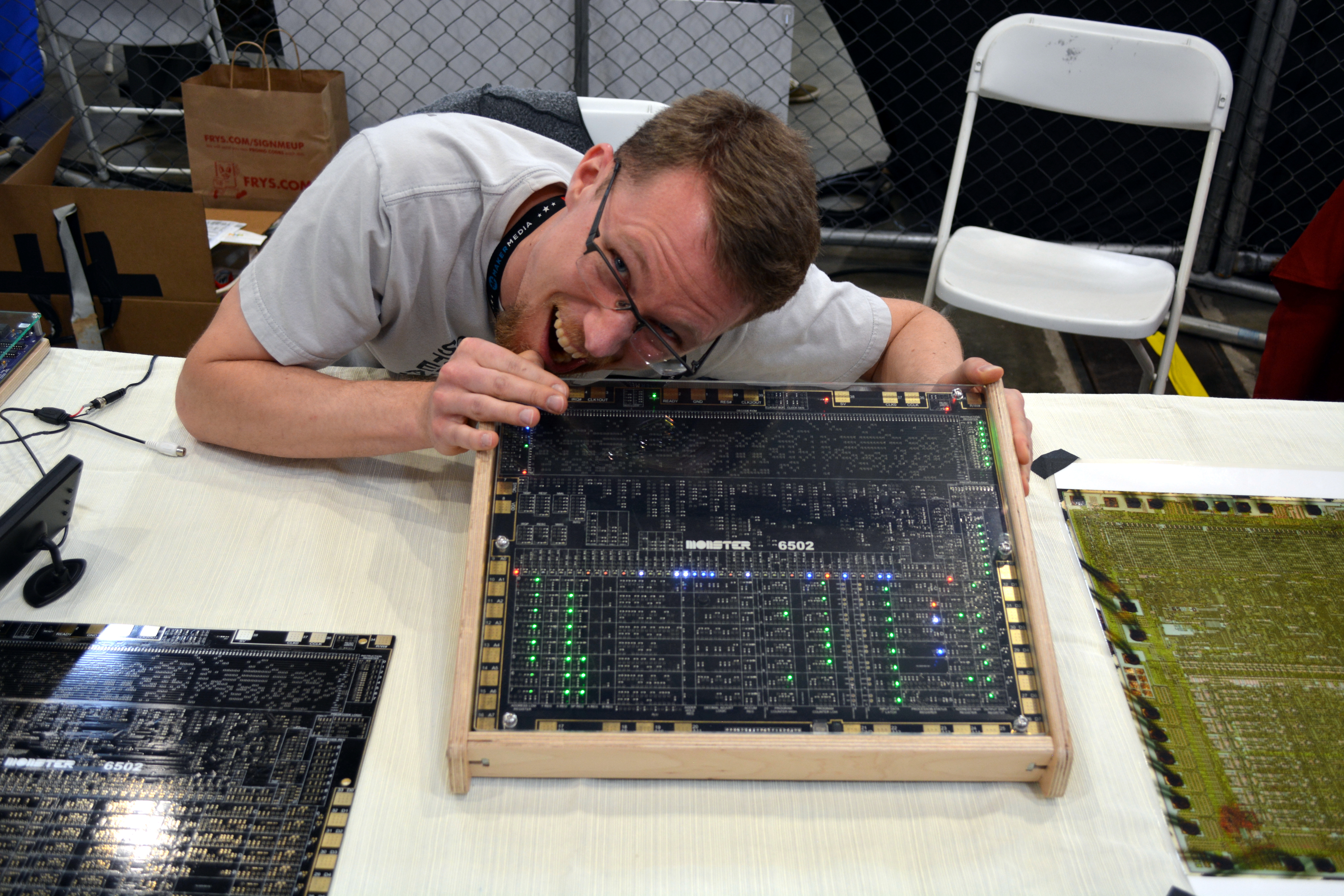 How The Dis-integrated 6502 Came To Be   Hackaday