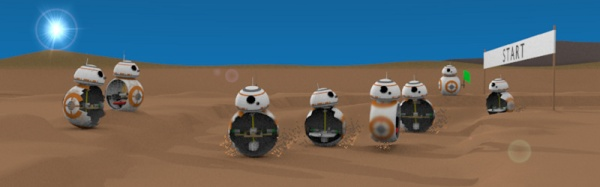 Driving BB-8 - More than one way to move this bot