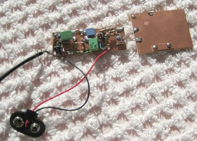 G3XBM's e-field VLF antenna