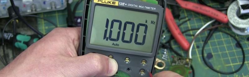 Fluke 12E+ Multimeter Hacking Hertz So Good   Hackaday