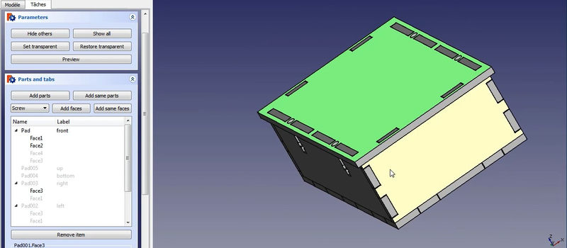 Add Slots And Tabs To Your Boxes In FreeCAD | Hackaday