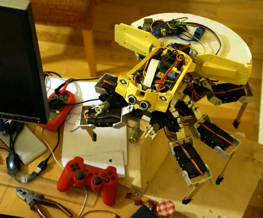 Hexapod Tank From Ghost In The Shell Brought To Life Hackaday