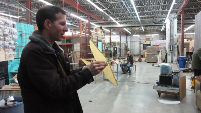 Making an ornithopter with Make613's help