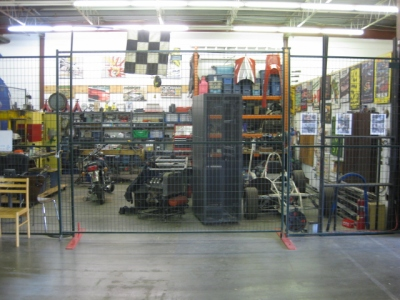 Mike's Formula Junior race car and making space