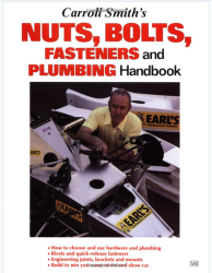 "However, if racecar plumbing is your thing his treastise, ""Carroll Smith's Nuts, Bolts, Fasteners and Plumbing Handbook"" is also fantastic."