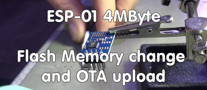 Your ESP8266 Needs More Memory | Hackaday
