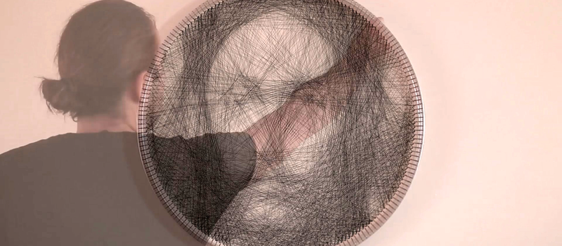 Computer-Designed Portraits, Knit By Hand! | Hackaday