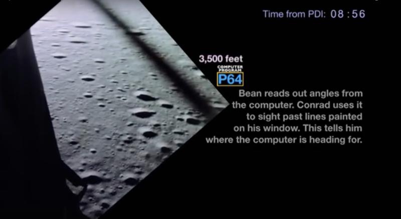 Riding Shotgun In The Apollo 12 Lunar Lander   Hackaday