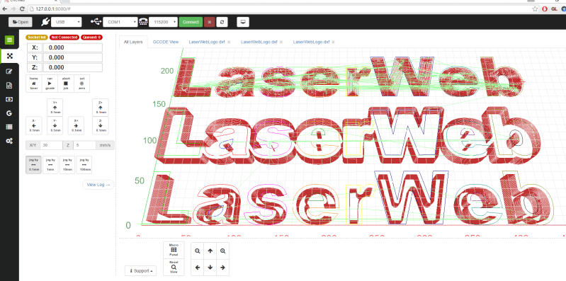 Open-Source Laser Cutter Software Gets Major Update, New