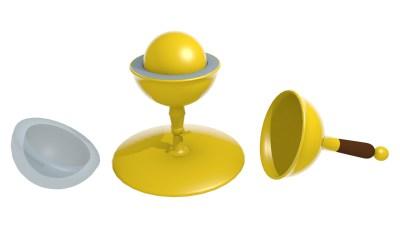 Faraday's specific inductive capacity apparatus
