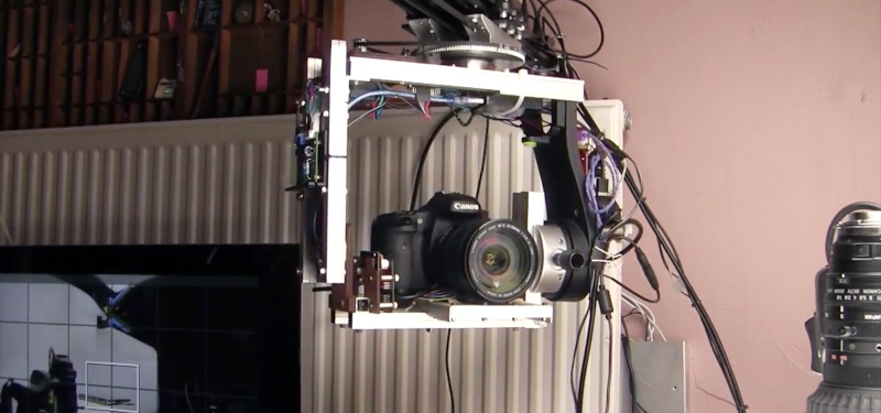DIY Motion Control Camera Rig Produces Money Shots On A
