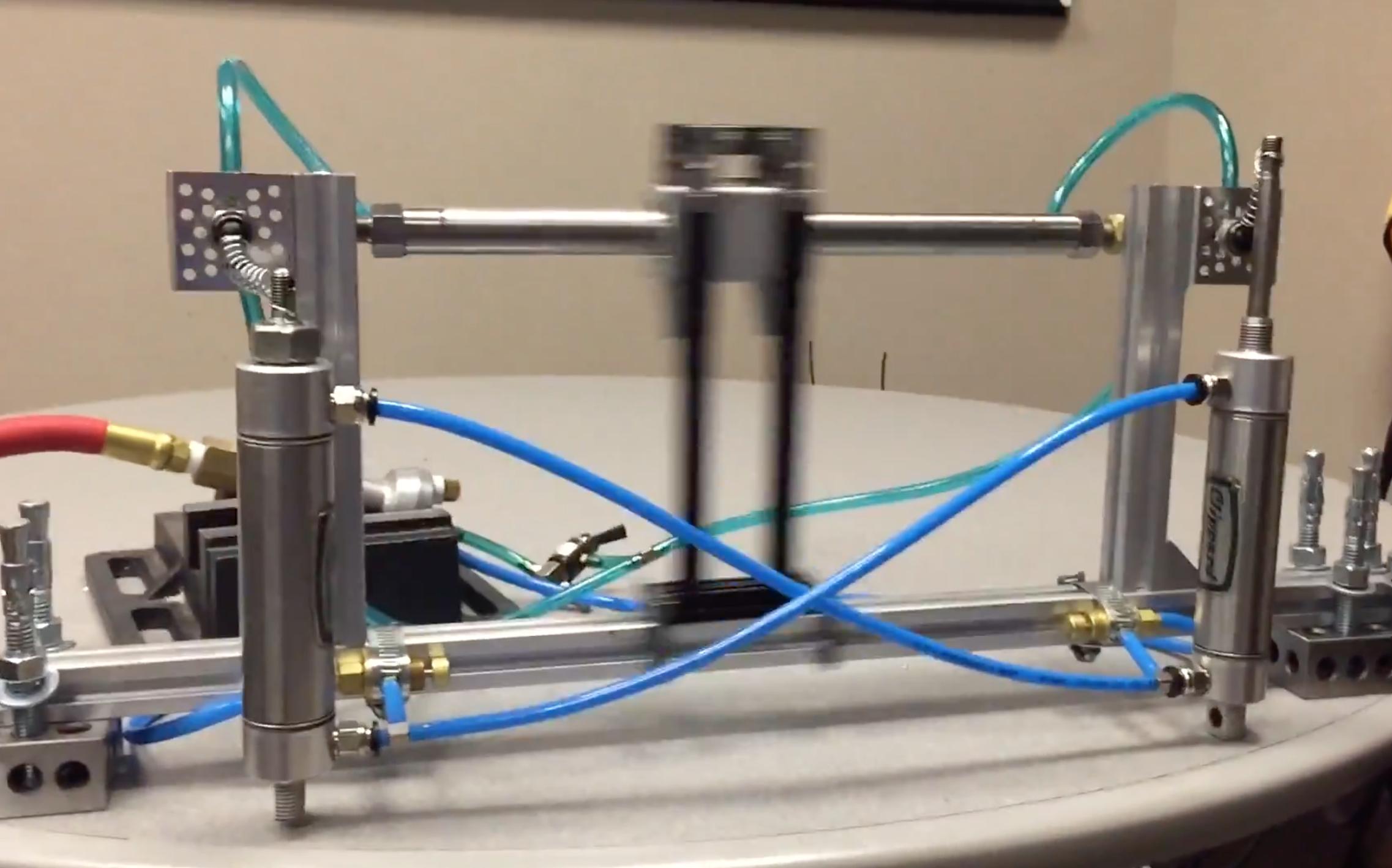 oscillating pneumatic mechanism doesn\u0027t need a purpose hackaday