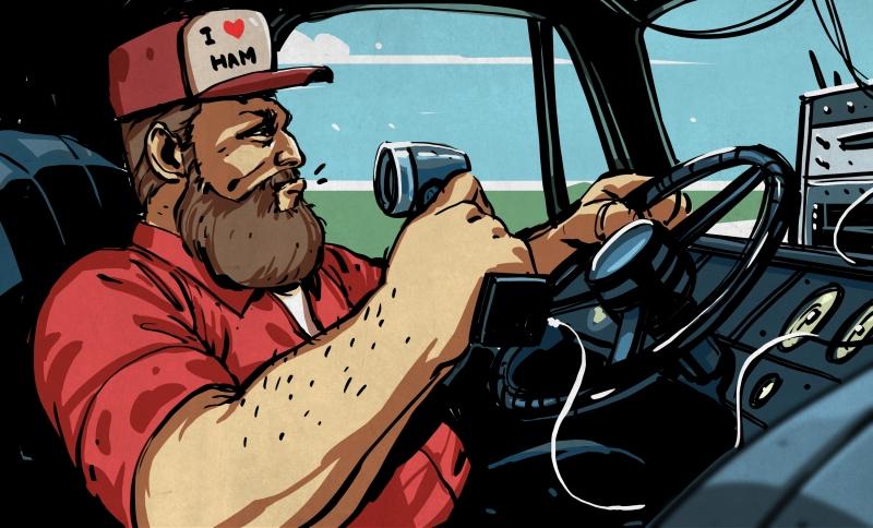 6f014d2db Fine Business, Good Buddy: Amateur Radio For Truckers | Hackaday