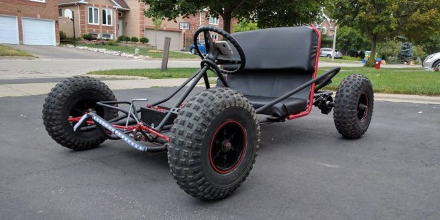 Alternator Becomes Motor For This Electric Go-kart | Hackaday