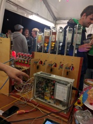 The Nottingham Hackspace BarBot. Image courtesy of [Jasmine].