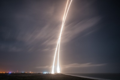 Falcon 9 launch and landing streaks