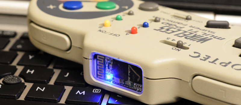 Bluetooth HID Gamepad And HC-05 Serial Hack | Hackaday