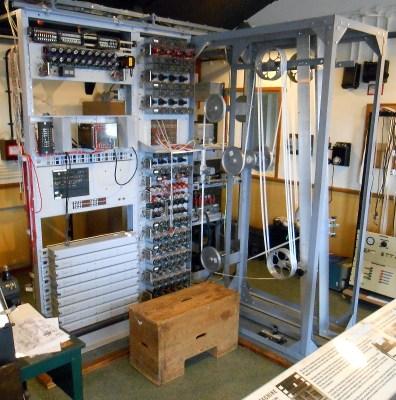 The rebuilt Heath Robinson machine.
