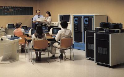 An MV/8000 installation (from DG literature)