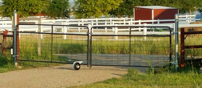 Remote-Operated Gate On A Budget | Hackaday