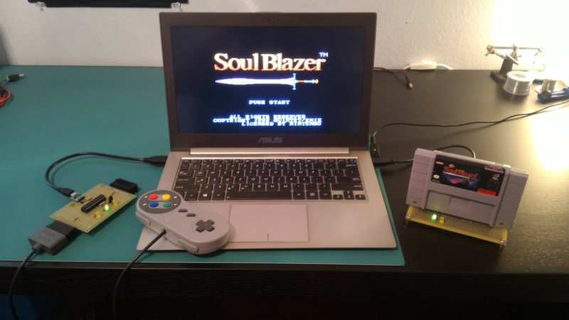 Open Source SNES To USB Converter Lets You Emulate Legally