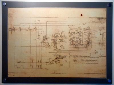 A partial Colossus schematic.