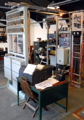The museum's Tunny machine