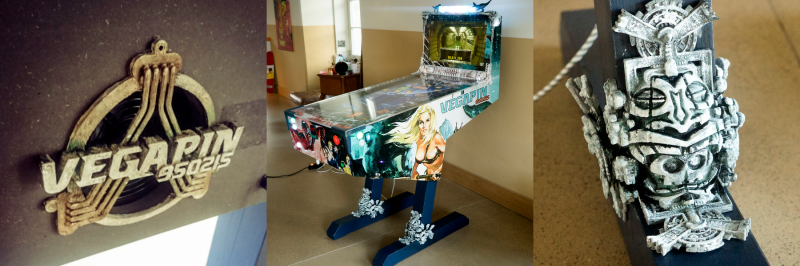 Vegapin: A Beautiful Virtual Pinball Machine | Hackaday