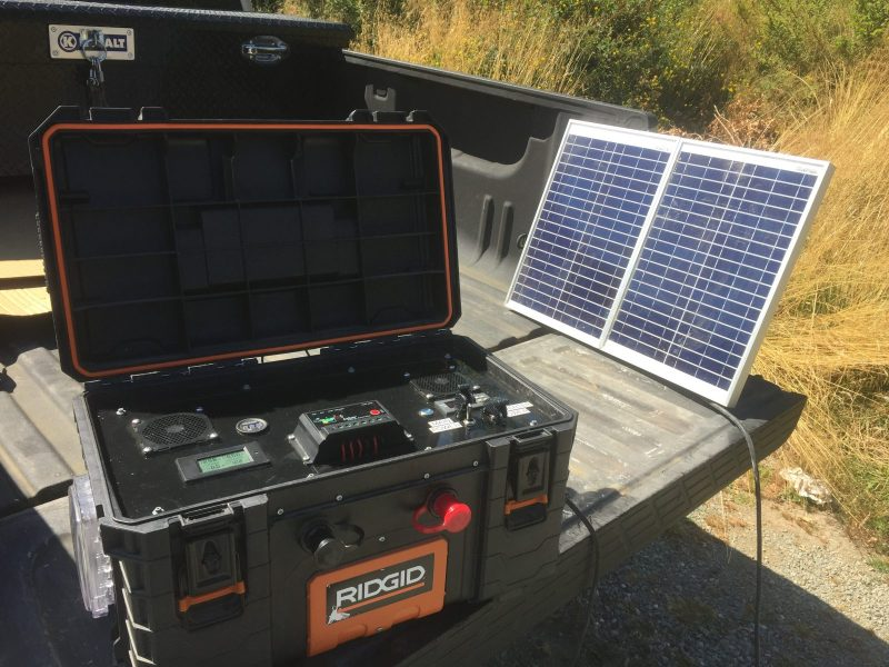 Solar Panel Battery Bank >> Portable Battery Bank Only Looks Like A Bomb Hackaday