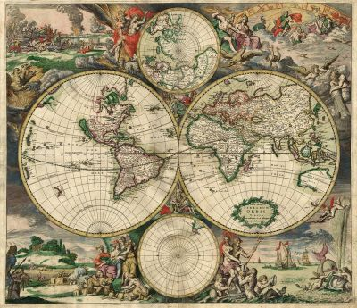 Maps let us express the world in ways our brain could not.