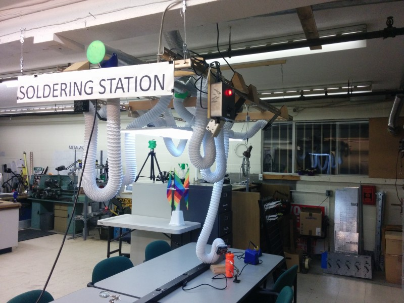 Hackerspace Takes Fume Extraction Seriously | Hackaday
