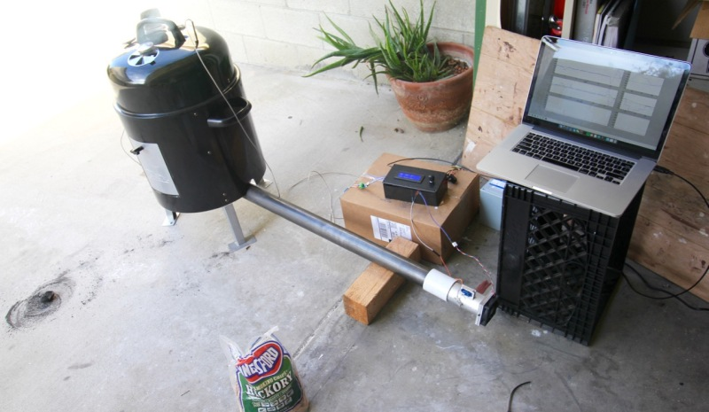 See A Cheap Smoker Get An Automation Power Up | Hackaday