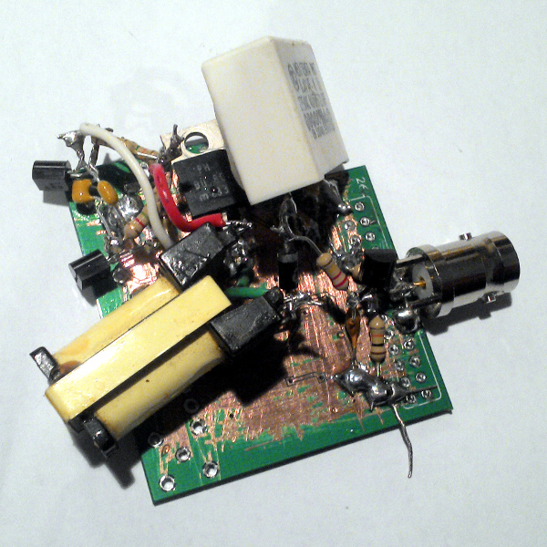 A Quickly-Hacked-Together Avalanche Pulse Generator | Hackaday
