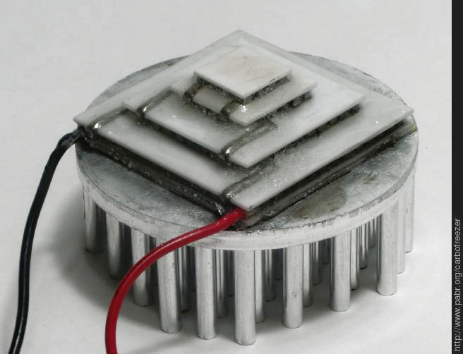 Thermoelectric Dry Ice Generator Does Not Work Yet Hackaday