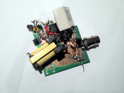 The Hackaday avalanche pulse generator.