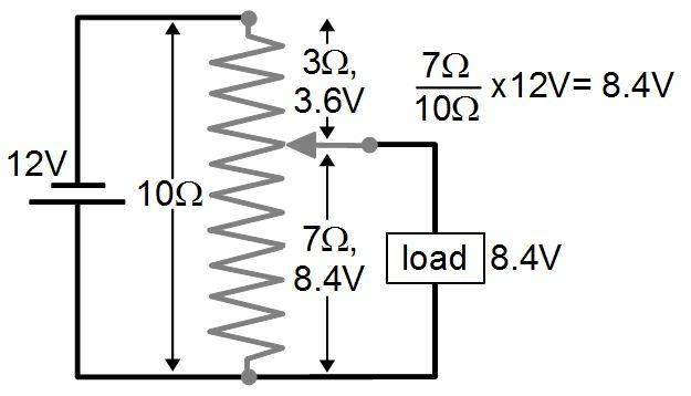 potentiometer schematic