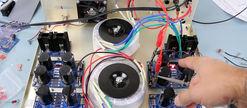 Build The Simplest Bipolar Power Supply   Hackaday