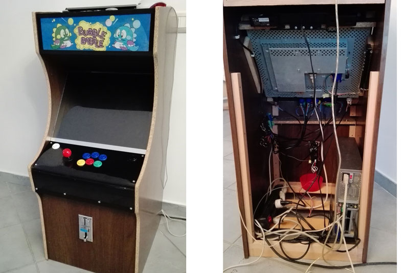Arcade Cabinet Build Takes Quarters Dispenses Fun Hackaday