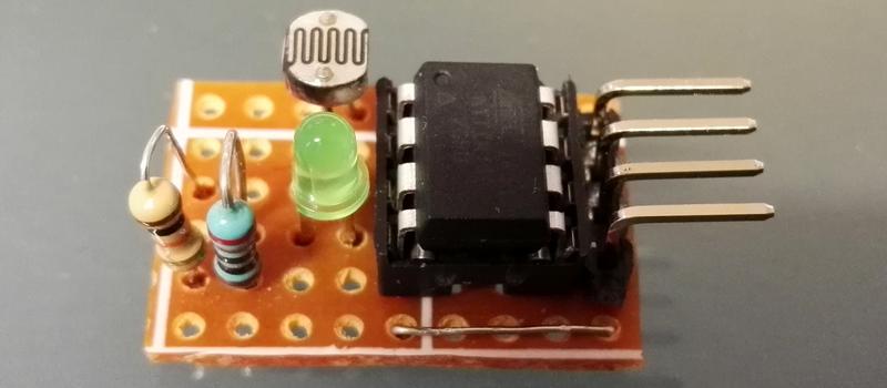 DIY I2C Devices With ATtiny85 | Hackaday