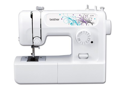The Brother L14, a typical budget sewing machine from a quality manufacturer.
