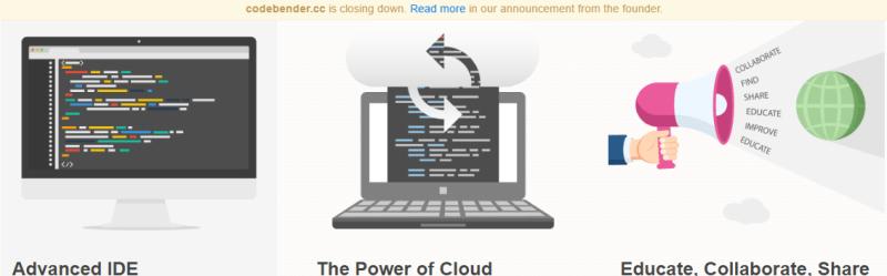 Codebender Shuts Down | Hackaday