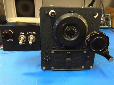 ARC-5 command set receiver, this one covering 1.5-3.0 MHz.